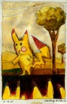 odd pikachu runway